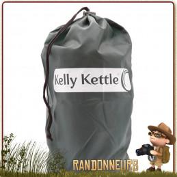 Bouilloire Bushcraft, Trekker Kettle Inox de 0.6 Litres Kelly Kettle réchaud bushcraft survie nature de randonnée