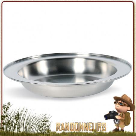 Assiette à Soupe Inox 24 cm TATONKA