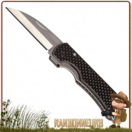 le couteau Titane Ti-Carbon Vargo est un couteau très tranchant en titane avec manche fibres de carbone