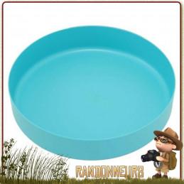 Assiette DeepDish large MSR pour randonner léger, Polypropylène vaisselle  ultra légère et incassable, pour le camping