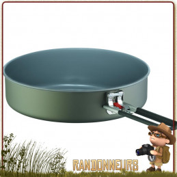 Poêle Céramique Anti Adhésives Flex Skillet MSR 1.5 litres pour randonner léger non toxique en aluminium anodisé