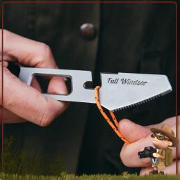 Couteau Full Windsor en titane ultra léger pour randonner. Set de couverts trekkinf The Muncher Full Windsor titane ultra light