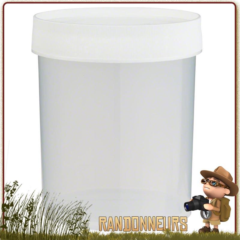 Boite de Stockage Jar 100 cl Nalgene Polypropylène neutre en goût et odeur pour le transport et stockage des aliments