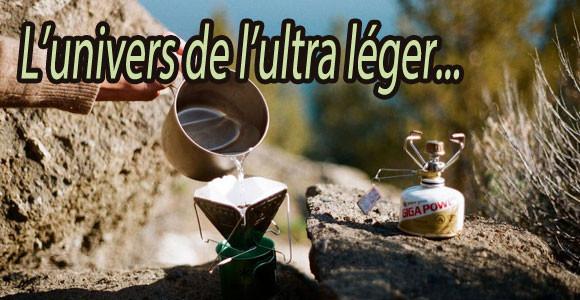 Popote et vaisselle ultra légères pour le bivouac trekking