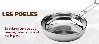 Les poêles aluminium ou inox pour la cuisson en bivouac léger